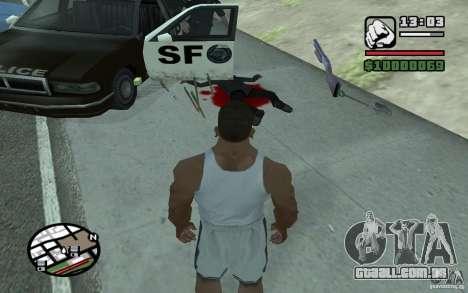 Jogando pás para GTA San Andreas segunda tela