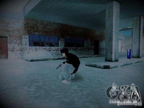 MOD de Valera para GTA San Andreas por diante tela