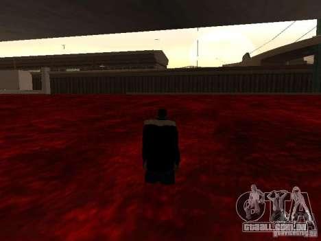 Lava para GTA San Andreas terceira tela