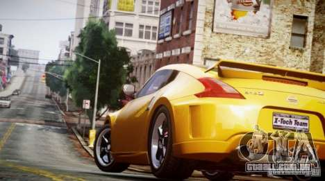 Nissan 370Z Final para GTA 4 traseira esquerda vista
