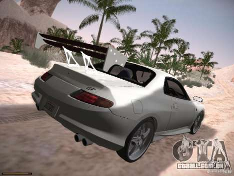 Mitsubishi FTO GP Veilside para GTA San Andreas esquerda vista