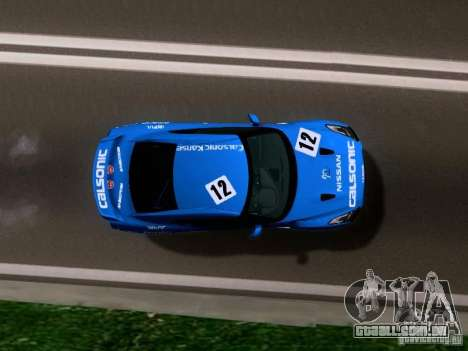 Nissan GTR 2010 Spec-V para GTA San Andreas vista direita