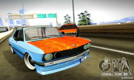 BMW E28 525e RatStyle No1 para vista lateral GTA San Andreas