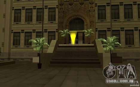 Forças especiais-CJ para GTA San Andreas segunda tela