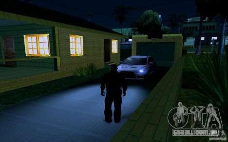 Nova casa grande robô para GTA San Andreas twelth tela