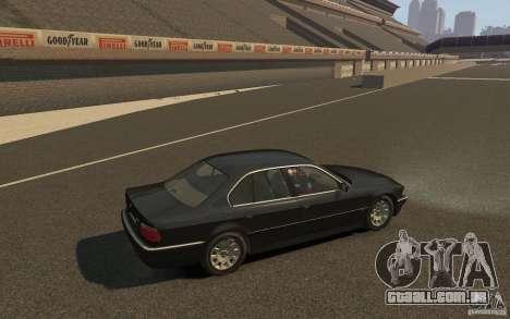 BMW 750i (e38) v2.0 para GTA 4 vista direita
