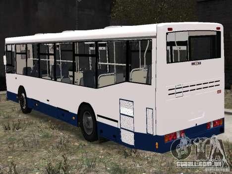 Nefaz-5299 10-15 para GTA 4 traseira esquerda vista