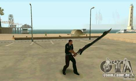 Espada de Nero no Devil May Cry 4 para GTA San Andreas