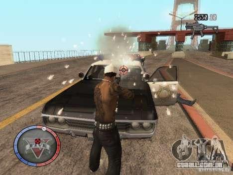 GTA 5 HUD para GTA San Andreas por diante tela