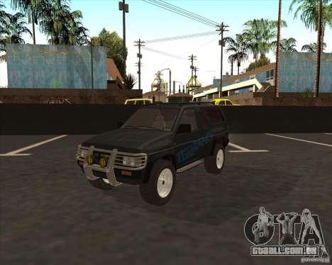 Nissan Terrano para GTA San Andreas