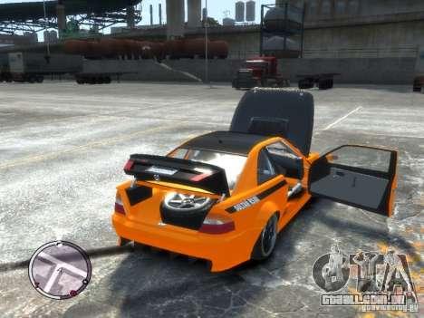 Sultan RS HD FreeStyle Team para GTA 4 vista de volta