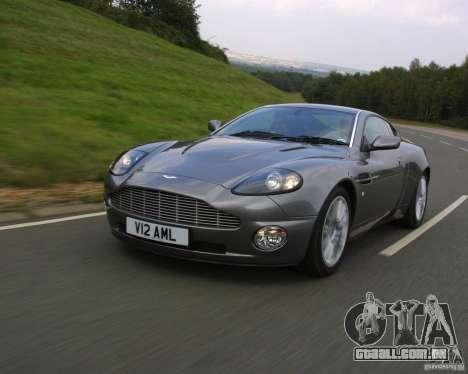 Aston Martin V12 Vanquish 6.0 i V12 48V v2.0 para GTA Vice City vista direita