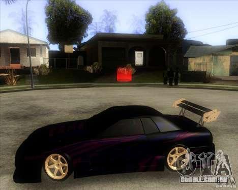 Elegy 0.2 para GTA San Andreas vista direita