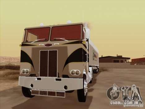 Peterbilt 352 para GTA San Andreas esquerda vista