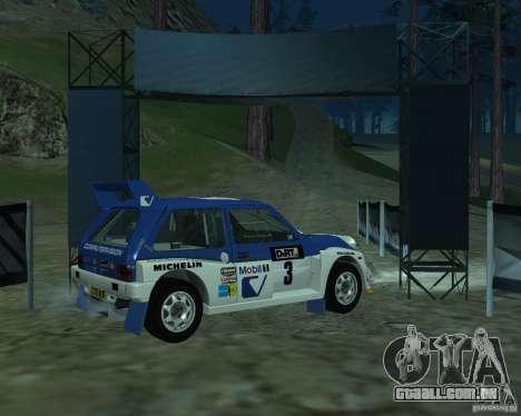 MG Metro 6M4 Group B para GTA San Andreas