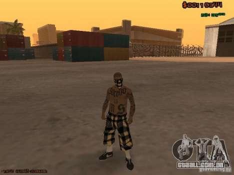 Vagos Skins para GTA San Andreas terceira tela