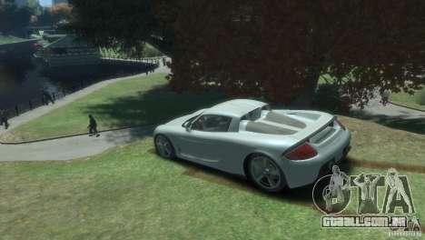 Porsche Carrera GT para GTA 4 esquerda vista