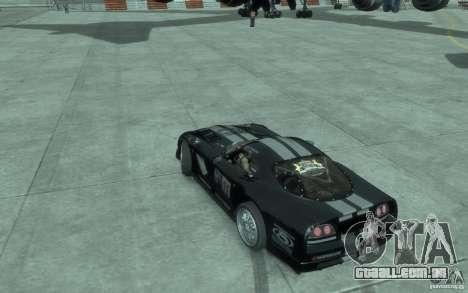 Dodge Viper Competition Coupe para GTA 4 esquerda vista