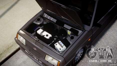 Esporte Vaz-2108 para GTA 4 vista direita