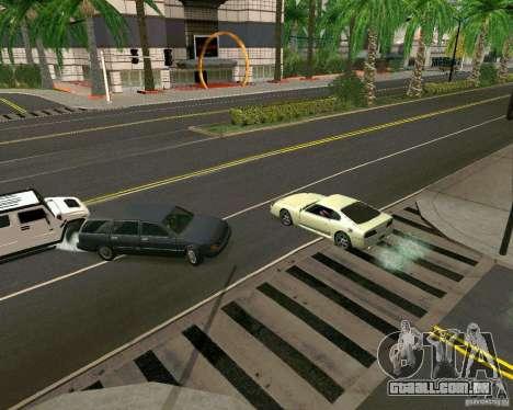 GTA 4 Road Las Venturas para GTA San Andreas quinto tela