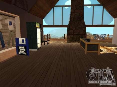 Casa de campo para GTA San Andreas terceira tela
