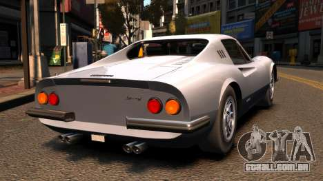 Ferrari Dino 246 GTS 1972 para GTA 4