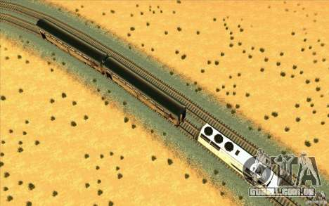 Desenganchados de vagões para GTA San Andreas terceira tela