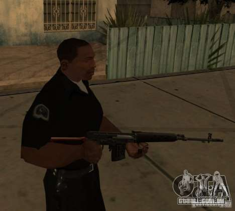 Armas de Pak interno atualizadas para GTA San Andreas