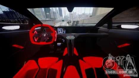 Lamborghini Sesto Elemento 2013 V2.0 para GTA 4 vista de volta