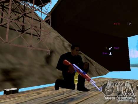 Ice Weapon Pack para GTA San Andreas décima primeira imagem de tela