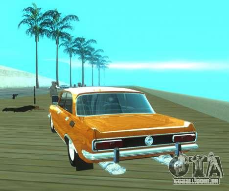 Dragster Moskvich 2140 para GTA San Andreas traseira esquerda vista