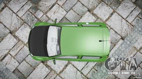 Renault Clio V6 para GTA 4 vista direita