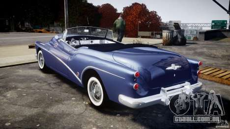 Buick Skylark Convertible 1953 v1.0 para GTA 4 vista direita