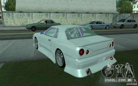 Elegy MS R32 para GTA San Andreas vista traseira