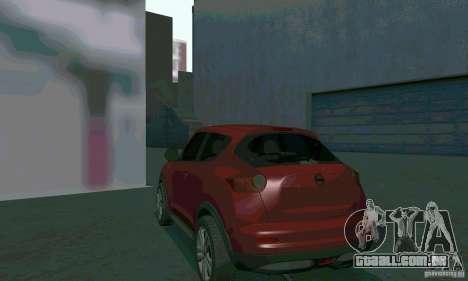 Nissan Juke para GTA San Andreas vista interior