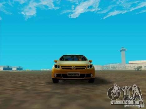 Volkswagen Voyage Comfortline 1.6 2009 para GTA San Andreas esquerda vista
