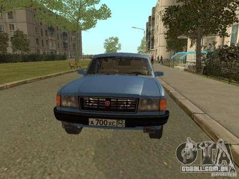 GAZ Volga 31022 para GTA San Andreas esquerda vista