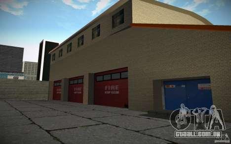Departamento de fogo HD para GTA San Andreas por diante tela