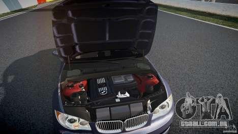 BMW 135i Coupe v1.0 2009 para GTA 4 vista superior