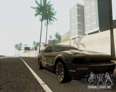 Ford Mustang Boss 302 para GTA San Andreas traseira esquerda vista