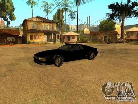 Spawn de carros para GTA San Andreas nono tela