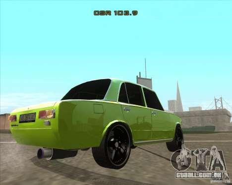 2101 VAZ versão tuning de carro para GTA San Andreas esquerda vista