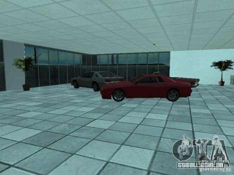 Mais carros a motor show em Dougherty para GTA San Andreas por diante tela