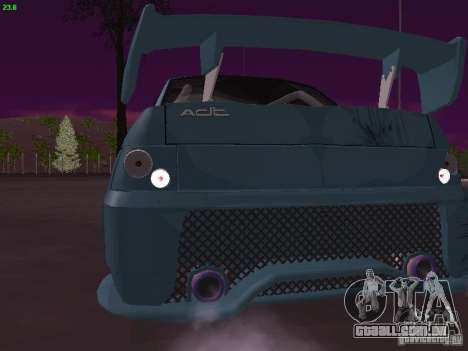 VAZ 2110 ADT Tuning para GTA San Andreas vista direita