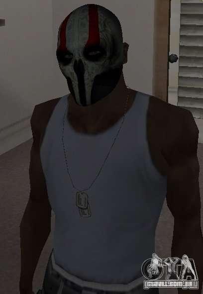 Army of Two Mask Skull para GTA San Andreas terceira tela
