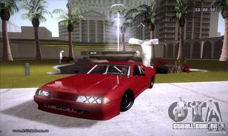 ENBSeries v5.0 Baby Blue para GTA San Andreas quinto tela