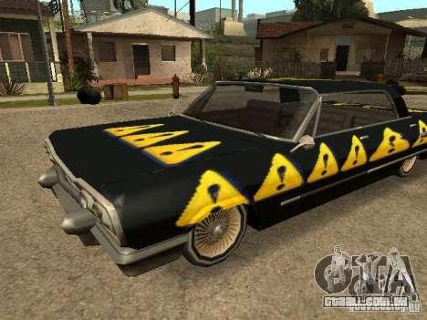 Savanna Texturen para GTA San Andreas esquerda vista