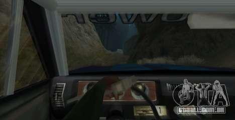 Eon SabreTaur Picador para GTA San Andreas vista traseira