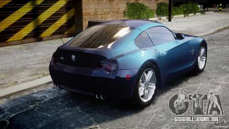 BMW Z4 V3.0 Tunable para GTA 4 vista lateral