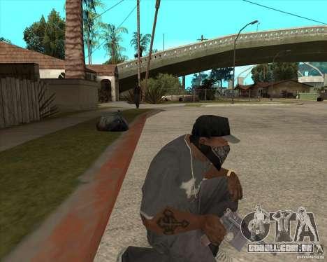 Resident Evil 4 weapon pack para GTA San Andreas sexta tela